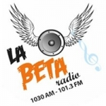 Logo da emissora Radio La Beta 1030 AM 101.3 FM