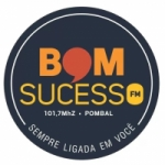 Logo da emissora Rádio Bom Sucesso 101.7 FM