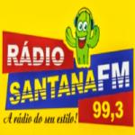 Logo da emissora Rádio Santana FM