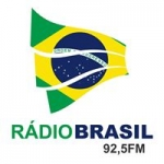 Logo da emissora Rádio Brasil 92.5 FM