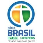 Logo da emissora Rádio Brasil 1270 AM