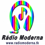 Logo da emissora Rádio Moderna