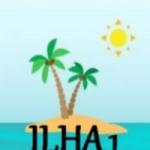 Logo da emissora Ilha 1