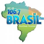 Logo da emissora Rádio Brasil 106.7 FM