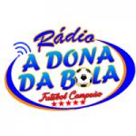 Logo da emissora Rádio A Dona da Bola