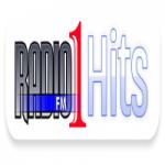 Logo da emissora Rádio 1 FM Hits