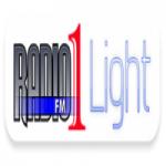 Logo da emissora Rádio 1 FM Light