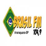 Logo da emissora Rádio Brasil 104.9 FM