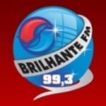 Logo da emissora Rádio Brilhante 99.3 FM