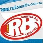 Logo da emissora Rádio Buritis 1460 AM