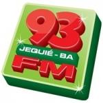 Logo da emissora Rádio 93 FM