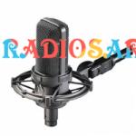 Logo da emissora Rádio Saron Bahia