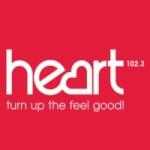 Logo da emissora Radio Heart FM 102.3
