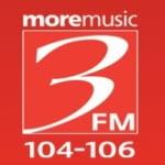 Logo da emissora Radio 3FM 107.5
