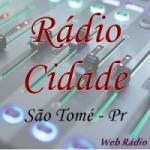 Logo da emissora Rádio Cidade São Tomé