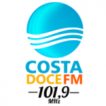 Logo da emissora Rádio Costa Doce 101.9 FM