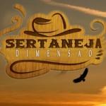Logo da emissora Rádio Dimensão Sertaneja