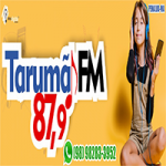 Logo da emissora Rádio Tarumã FM