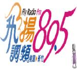 Logo da emissora Fly Radio 89.5 FM
