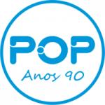 Logo da emissora Rádio Pop Anos 90