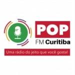 Logo da emissora Rádio Pop FM Curitiba