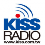 Logo da emissora Kiss Radio 97.1 FM