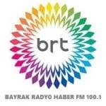 Logo da emissora Bayrak Radyo Haber 100.1 FM