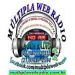 Logo da emissora Múltipla Web Rádio
