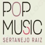 Logo da emissora Pop Music Sertanejo Raiz