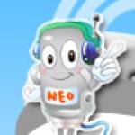 Logo da emissora N.E.R 5 101.7 FM Taipei