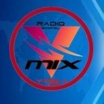 Logo da emissora V Mix Rádio Gospel