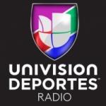 Logo da emissora Univision Deportes Radio