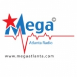 Logo da emissora Radio Mega Atlanta