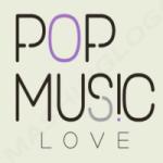Logo da emissora Rádio Pop Music Love