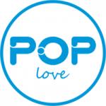 Logo da emissora Rádio Pop Love
