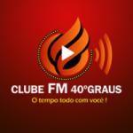 Logo da emissora Rádio Clube FM 40 Graus