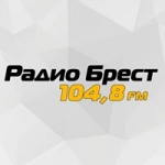 Logo da emissora Radio Brest 104.8 FM