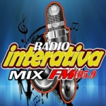 Logo da emissora Rádio Interativa Mix FM