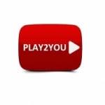 Logo da emissora Rádio Play 2 You