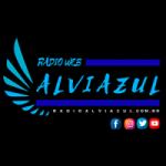 Logo da emissora Rádio Alvi Azul
