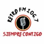 Logo da emissora Radio Retro 106.7 FM