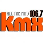 Logo da emissora WKMX 106.7 FM