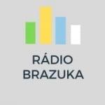 Logo da emissora Rádio Brazuka