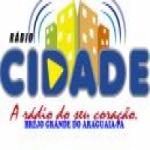 Logo da emissora Rádio Cidade Brejo Grande