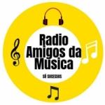 Logo da emissora Radio Amigos da Musica