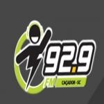 Logo da emissora Rádio Caçador 92.9 FM