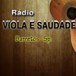 Logo da emissora Rádio Viola E Saudade