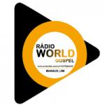 Logo da emissora Rádio World Gospel