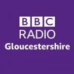 Logo da emissora BBC Radio Gloucestershire 104.7 FM