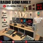 Logo da emissora Rádio Gonfamily